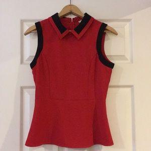 Jack by BB Dakota Red Collared Shirt